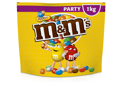 M&M's Peanut Party Pack 1000g 7x1