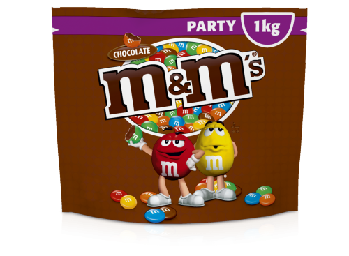 M&M's Choco Party Pack 1000g 7x1