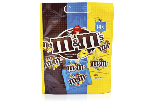 M&M's Mix Pouch 400g 15x1