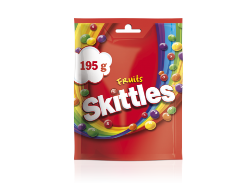 SKITTLES Fruits pouch 14*195g