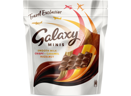 GALAXY Mixed Minis Pouch 491.5g 9x1